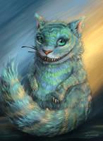 Cheshire by snowleo-art