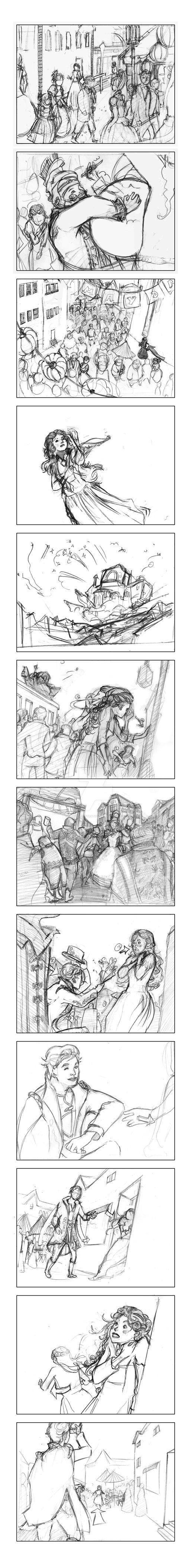 Storyboard by Comic-Illustration