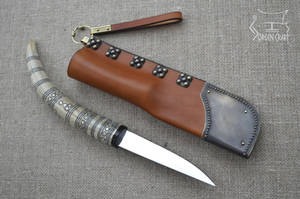 Slavic knife from Sowinki by Jorgen-Craft