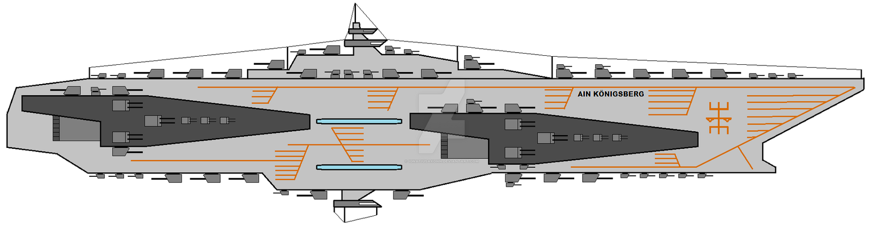 Konigsberg class light cruiser by IgnatiusAxonn