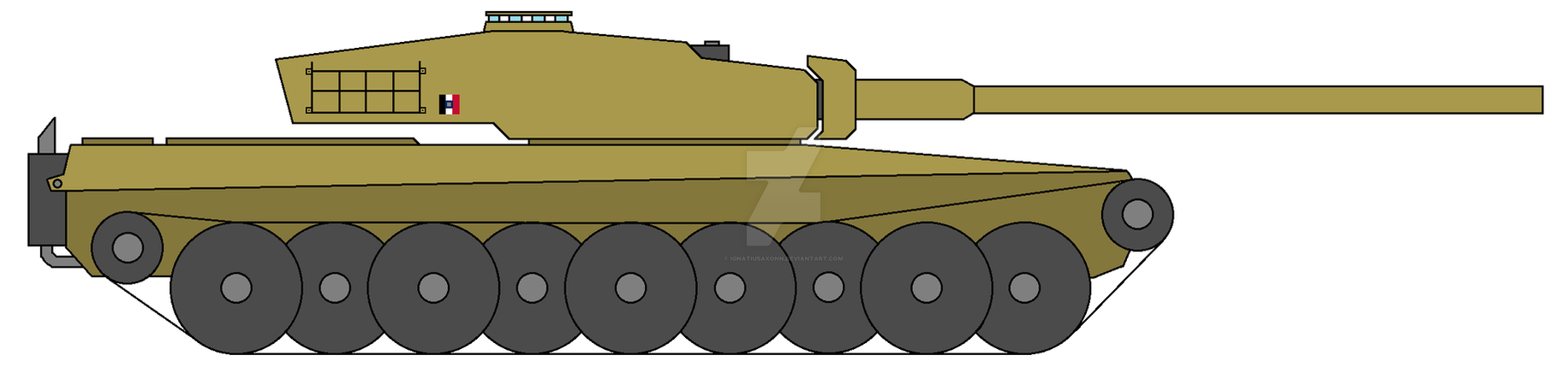 MBT Panther Ausf. B by IgnatiusAxonn