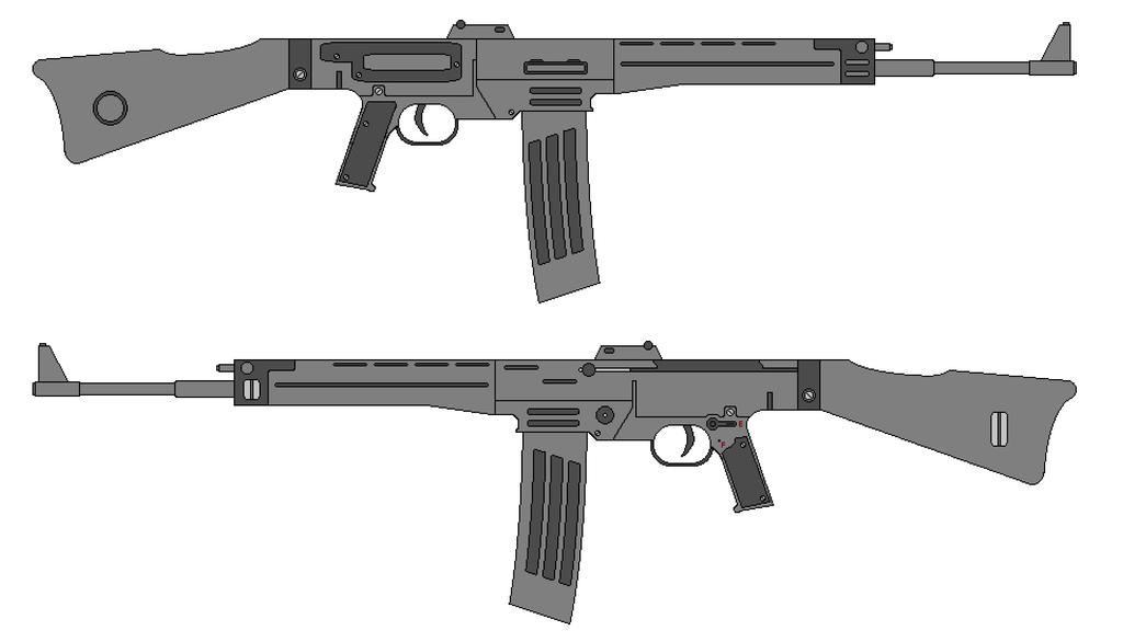 SturmGewehr 08 by IgnatiusAxonn