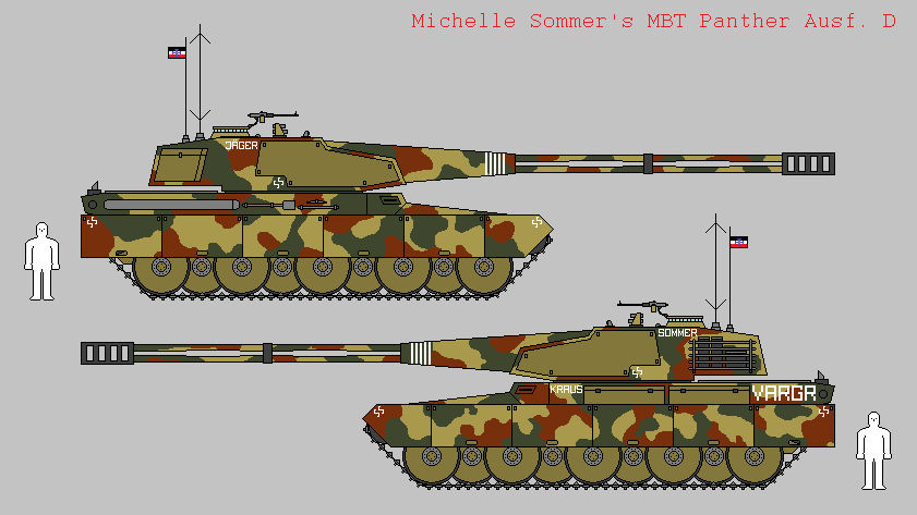 Michelle Sommer's MBT Panther Ausf. D 'VARGR'