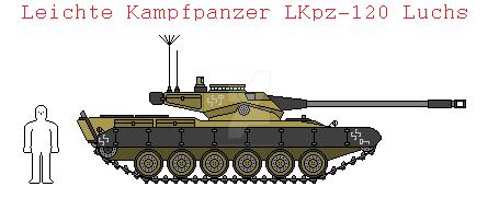 Leichte Kampfpanzer LKpz-120 by IgnatiusAxonn