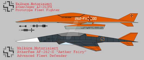 AJ-262 and AF-262 Comparison
