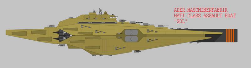 Hati Class Assault Boat