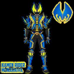 Kamen Rider MonarKiva by markolios