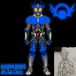 Kamen Rider Agito Exile by markolios