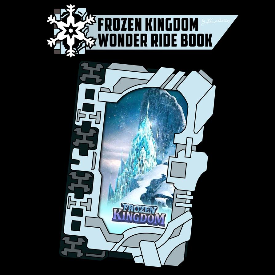 Frozen Kingdom Wonder Ride Book
