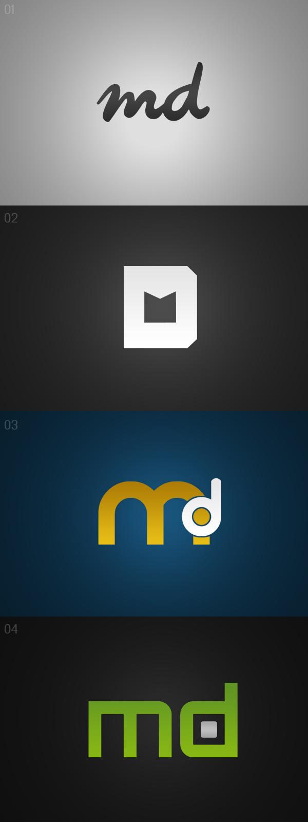 Md Logo Design md Logo Design by dsqu...