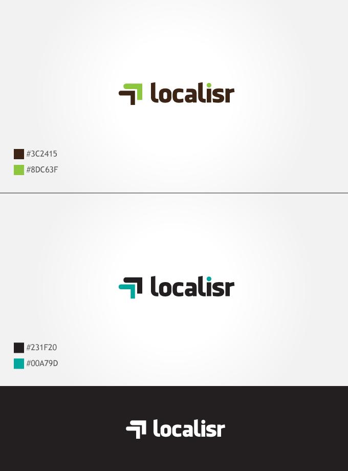 localisr logo by dsquaredgfx