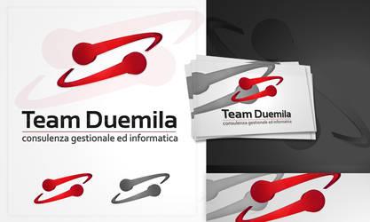 TeamDuemila logo design