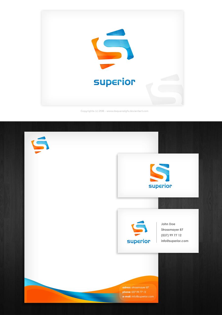 Superior Stationery Design by dsquaredgfx on DeviantArt