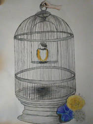 Vent Art: Caged (Personal Story time)