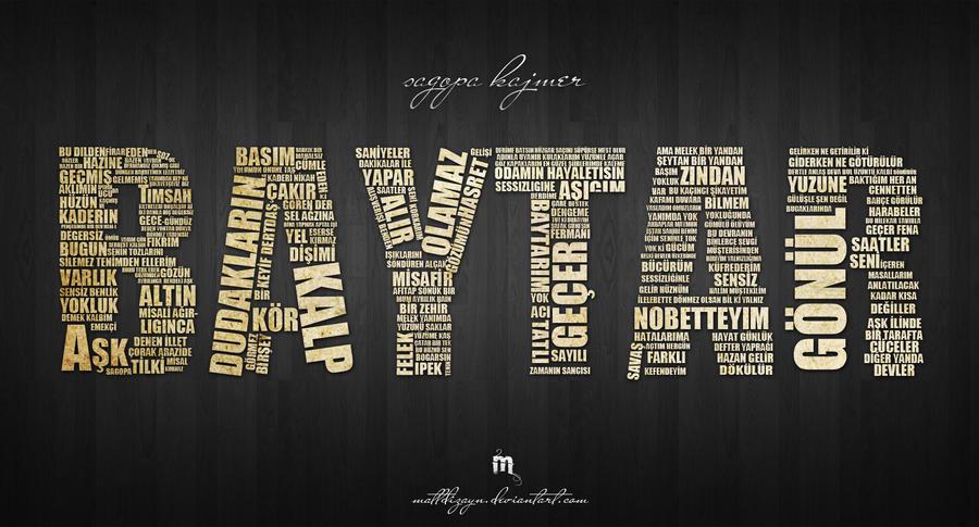 baytar typography by mattdizayn