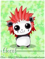 Panda Axel by Kheenaria