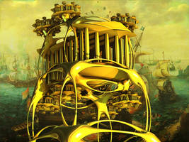 Golden Temple Incursion by PhotoComix2