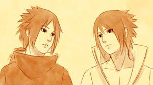 Izuna and Sasuke