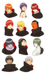 Akatsuki bowl cut