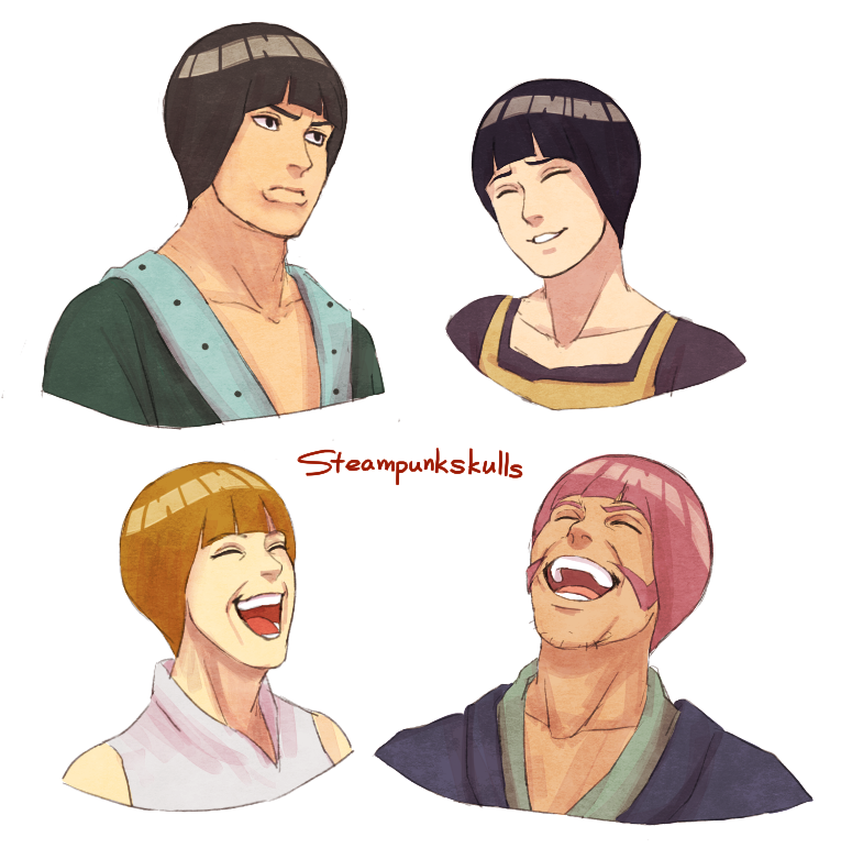 sasusaku's parents - bowl cut by steampunkskulls
