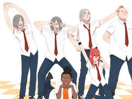 draw the squad / sound five