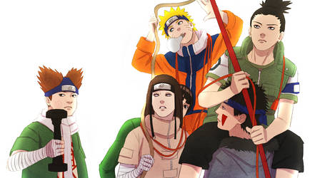 Sasuke Recovery Team by steampunkskulls