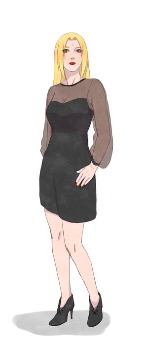 Tsunade with Fiona Goode's outfit