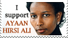 I Support Ayaan Hirsi Ali by Lulie