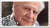 Karl Popper by Lulie