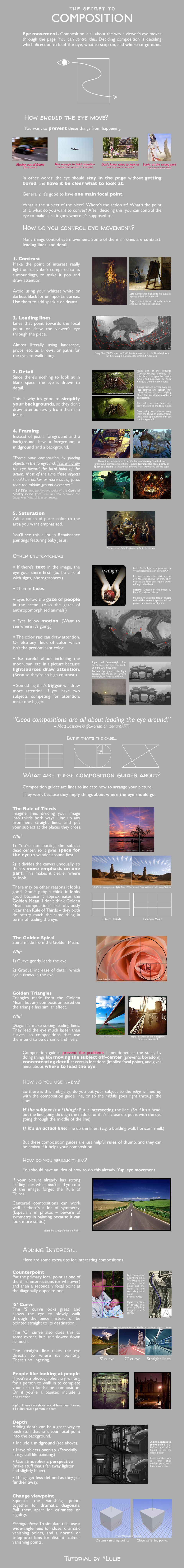 The Secret to Composition