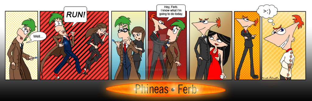 Doctor Ferb by LunaTheFox
