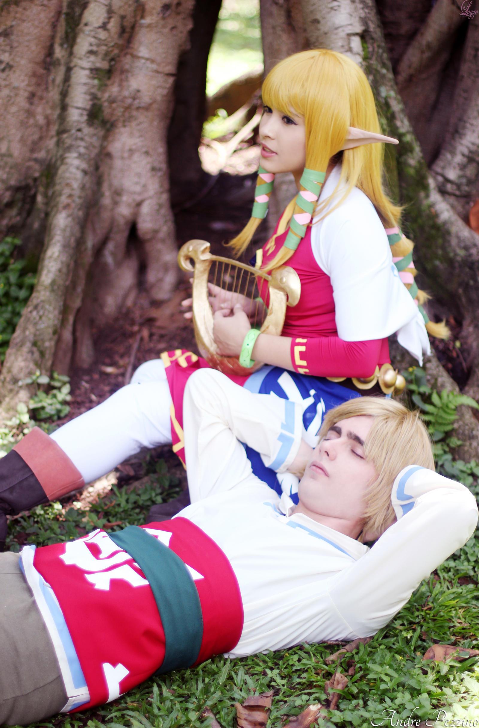 Zelda's Singing... by LayzeMichelle