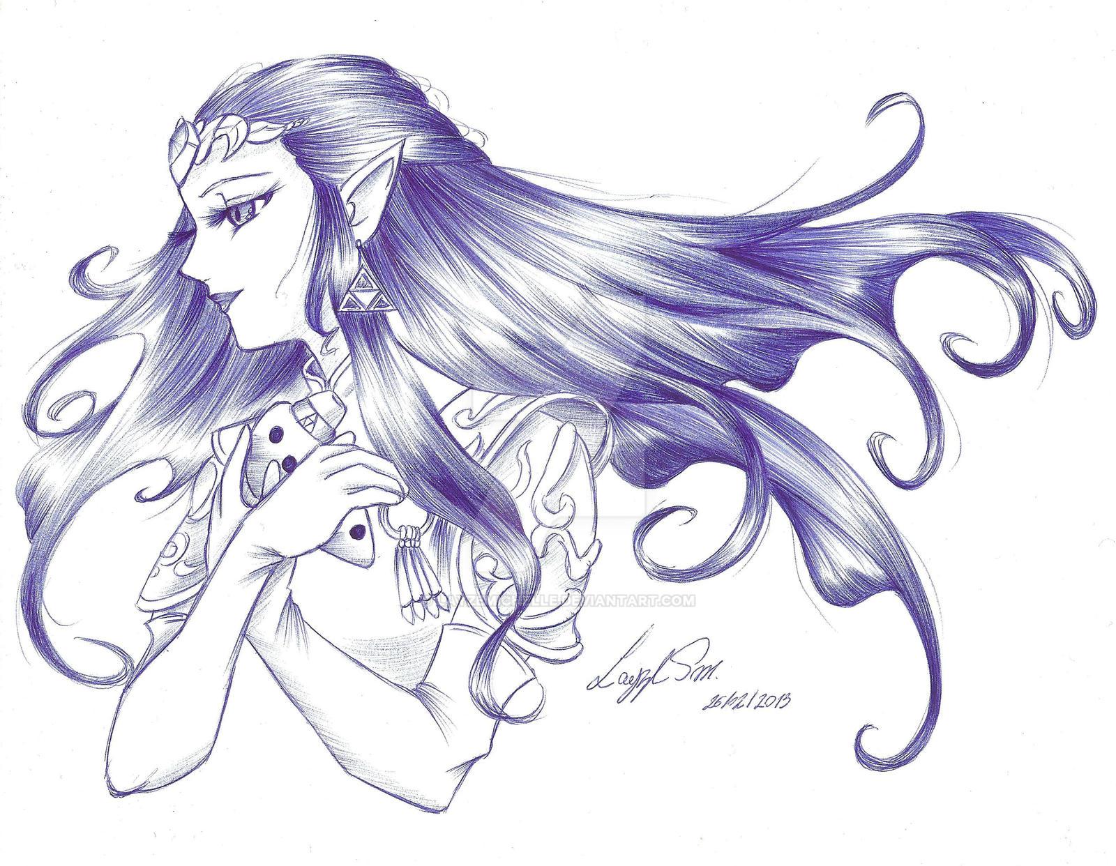 Zelda Ocarina of time Drawing