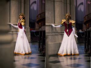 Zelda Twilight Princess Cosplay front and back