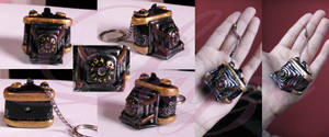 Camera Obscura keychain from Fatal Frame II by LayzeMichelle