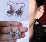 N64 joystick earrings