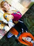 Princess Zelda and Midna