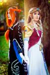 Zelda and Midna