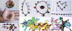 Eevee Evolution bracelets by LayzeMichelle
