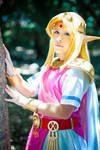 Princess Zelda cosplay from A Link Between Worlds
