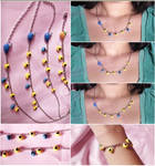 Musical necklaces and bracelets from Zelda Ocarin