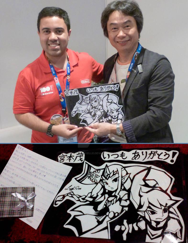 Shigeru Miyamoto and My Drawing!!