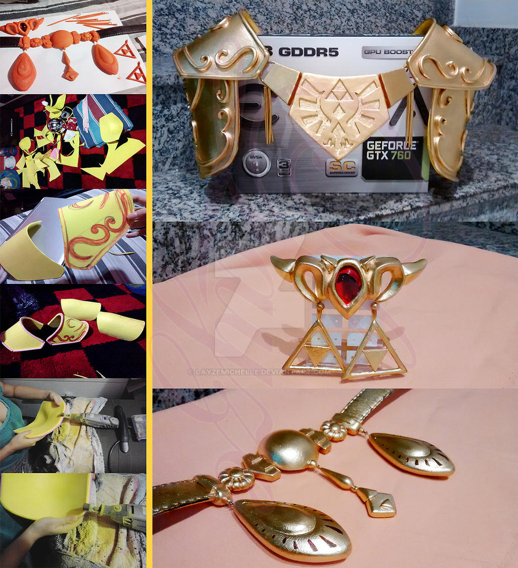Princess Zelda Ocarina Of Time Cosplay Progress By Layzemichelle On