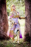 Queen Zelda from Hyrule Warriors by LayzeMichelle