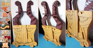 PROGRESS: Medli's Harp by LayzeMichelle