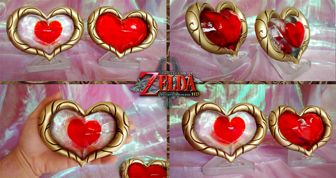 Heart Container and Piece from Twilight Princess