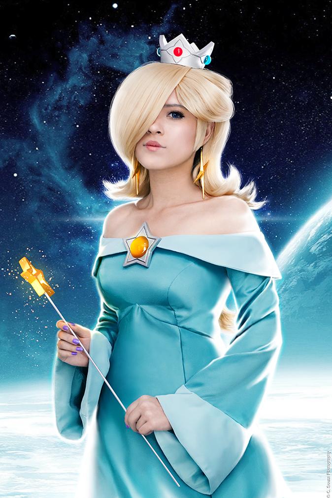 Princess Rosalina Cosplay - Super Mario Galaxy by LayzeMichelle