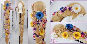 Rapunzel wig by LayzeMichelle