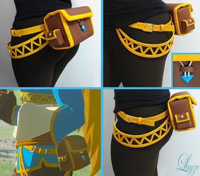 PROGRESS: Zelda's Pouch from Breath of the Wild
