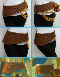 PROGRESS: Zelda's Belt from Breath of the Wild by LayzeMichelle